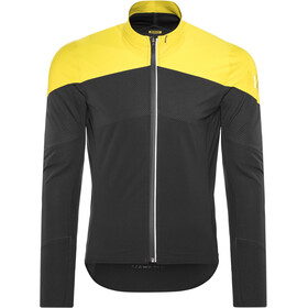 Mavic Cosmic Pro Softshell Jacket Herren black/yellow mavic